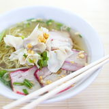 Wonton Soup Royalty Free Stock Images