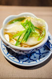 Wonton soup Stock Photos