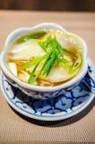 Wonton soup Stock Photos