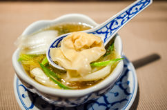 Wonton soup Royalty Free Stock Photography