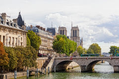 Wontonu bulwar w Paryż Obrazy Stock