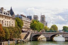 Wontonu bulwar w Paryż, Francja Obrazy Stock