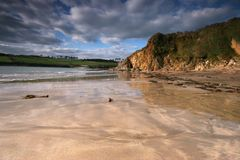 Wonwell Beach South Hams Royalty Free Stock Photos