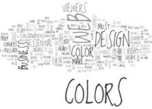 Woo Your Viewers Through Colors Word Cloud. WOO YOUR VIEWERS THROUGH COLORS TEXT WORD CLOUD CONCEPT Royalty Free Stock Image