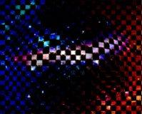 wooble kugelförmige Raumillustration Stockfoto