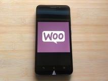 WooCommerce app stock foto