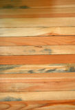 Wood. Oak table-top with prominent grain Royalty Free Stock Images