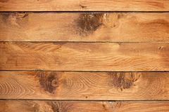 Wood. Rough wood background texture, horizontal lumbers Royalty Free Stock Image