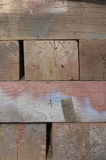 Wood. Stacked blocks of wood stock photos