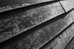 Wood. Old wood texture in black and white Stock Image