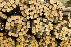 Wood. A photo of a pile of wood Royalty Free Stock Photos