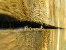 Wood. Yellow boards Royalty Free Stock Photo