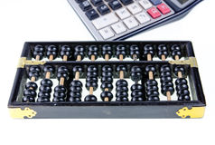Wood abacus Royalty Free Stock Photo