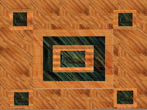Wood Abstract Design Royalty Free Stock Photography