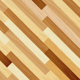 Wood abstract floor colored striped oblique concept Stock Images