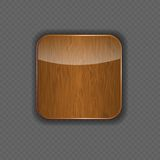 Wood application icon vector illustration Royalty Free Stock Photography