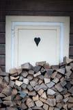 wood arbete Arkivbilder