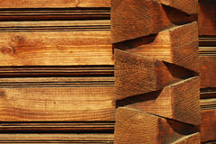 Wood architecture royalty free stock photos