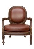 Wood armchair Stock Images