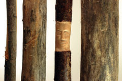 Wood artwork Royalty Free Stock Images