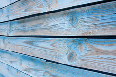 Wood Background. Fragment of an old wall of wood with knots Stock Photos
