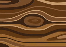 Wood background. Illustration of brown wood texture, background Stock Photos