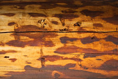 Wood background. A wooden background pattern: old and aged Stock Images
