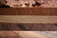 Wood Background. Different types of wood with attractive patterns Royalty Free Stock Images