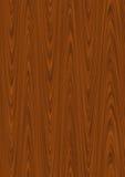 Wood background. Texture of dark wood vector illustration