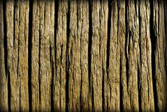 Wood Background. Wood grain with deep impressions Stock Photos