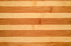 Wood background. Background from bamboo wood planks striped color, close-up Royalty Free Stock Images