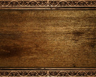 Wood background. With abstract form royalty free stock image