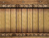 Wood background. Abstract wood background and forms royalty free stock photography