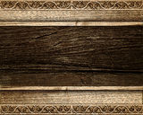 Wood background. Abstract wood background with forms stock photography