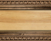 Wood background. With abstract forms royalty free stock photography