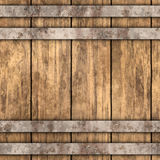 Wood background. Abstract seamless wood barrel background stock illustration