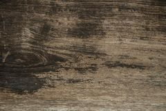 Wood background. Ancient brown wood with rug and stain on wood surface.ใ. Wood background. Ancient brown wood with rug and stain on wood surface royalty free stock photo