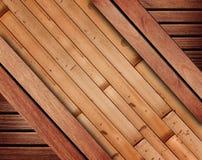 Wood background, bamboo planks pattern. Royalty Free Stock Photo