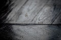 Wood background in black and white