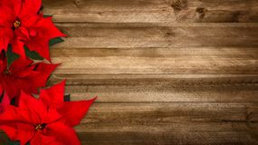 Wood background for Christmas stock images