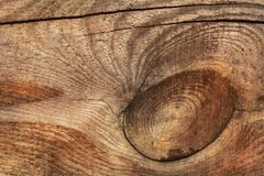 Wood background with cracks Royalty Free Stock Photo