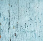 Wood background with dry peeling paint Royalty Free Stock Images
