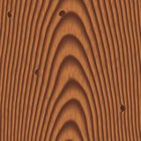 Wood background with knots Royalty Free Stock Photo