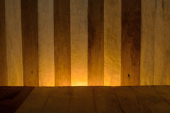 Wood. Background The light yellow Royalty Free Stock Image
