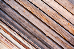 Wood background. Made of rough boards with space between them Stock Images
