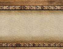 Wood background. With natural forms royalty free stock photo