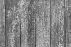Wood background, old color peeling texture black and white stock images