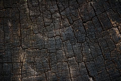 Wood background. Old, cracked background. It is dark gray to black Royalty Free Stock Photography