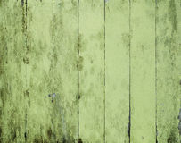Wood background. Old and dirty green textured wood planks as background Royalty Free Stock Photos