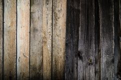 Wood background old panels. Vintage wall Stock Photos